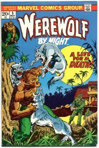 WEREWOLF by NIGHT #5, FN+, Wolf, Mike Ploog, Full Moon, 1972, more WW in store