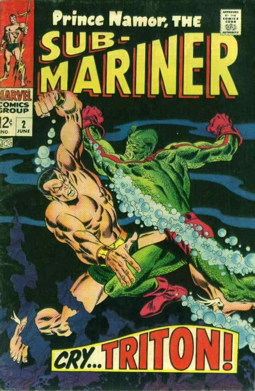 Sub-Mariner, The (Vol. 2) #2 VG; Marvel | low grade comic - save on shipping - d