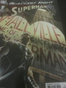 DC Blackest Night Superman #1 Mint