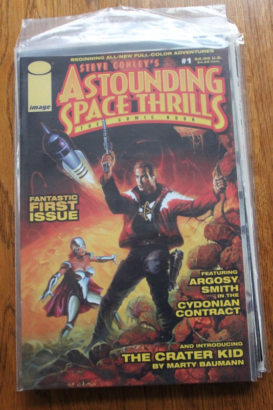 ASTOUNDING SPACE THRILLS: THE COMIC BOOK #1 (Image, 2000) Condition: NM/MT