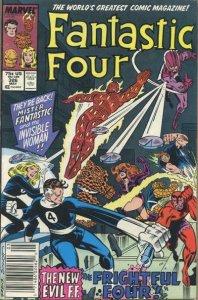 Fantastic Four (Vol. 1) #326 (Newsstand) VG; Marvel | low grade comic - save on
