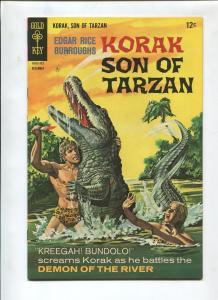 KORAK SON OF TARZAN #20 1967-GOLD KEY-VF/NM