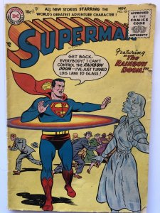 Superman 101(1955)Lex Luther story!reader-missing cntrfold(2 Pgs)