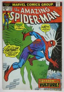 AMAZING SPIDER-MAN  #128 (Marvel,1/1974) GOOD (G) Vulture! Conway & Andru