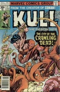 Kull the Conqueror (1971 series) #21, Fine+ (Stock photo)