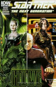 Star Trek TNG: Hive #2A VF/NM; IDW   save on shipping - details inside