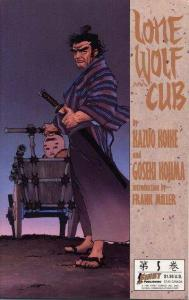 Lone Wolf and Cub (1987 series) #5, NM + (Stock photo)