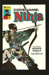 Solson Publications Code Name Ninja No 1 1987