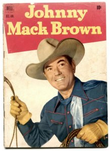 Johnny Mack Brown #8 1952- Dell Western Golden Age VG