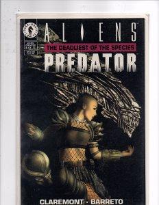Aliens / Predator: Deadliest of the Species #9 John Bolton Cover Chris Claremont
