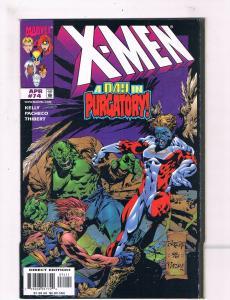 X-Men # 74 VF/NM Marvel Comic Books Wolverine Magneto Gambit Rogue Cyclops!! SW8
