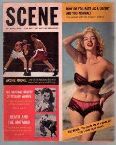 Scene 4/1959-Eve Meyer-James Garner-cheesecake-exploitation-FN