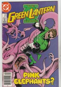 Green Lantern #211 (Apr-87) VF High-Grade Green Lantern, The Green Lantern Corps