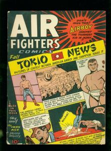 AIR FIGHTERS COMICS VOL 2 #10-HEAP -SKY WOLF-FINAL ISSUE- VG