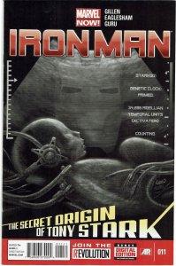 Iron Man #11 (2013 v5) Greg Land Cover NM