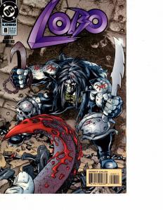 Lot Of 2 DC Comics Lobo #8 and Nightwing #111  Wonder Women  JB4