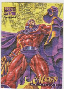 1995 Marvel Masterpieces Canvas #13 Magneto