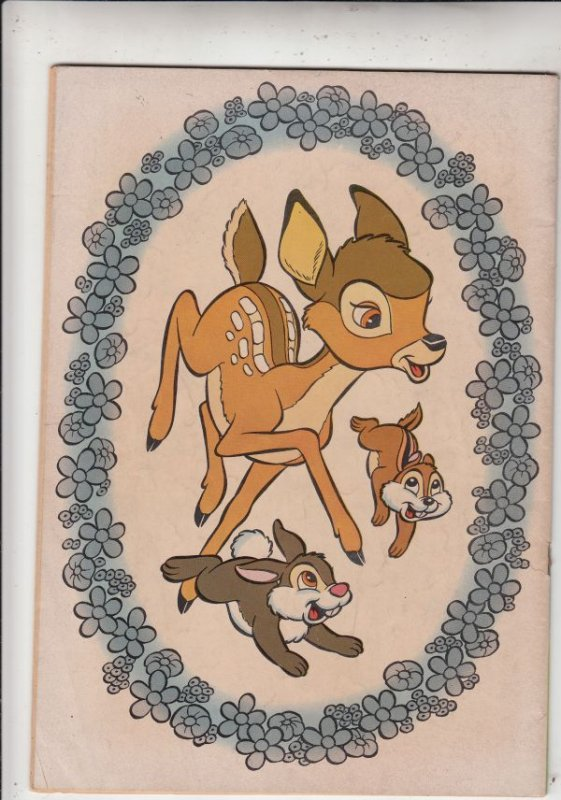 Movie Classics Bambi #3 (Apr-56) VG/FN Mid-Grade Bambi and Thumper