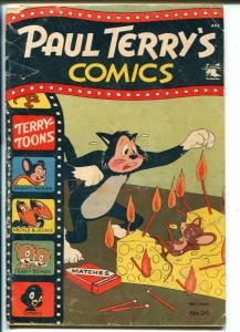 Paul Terry's #96 1952-St John-Mighty Mouse-Heckle & Jeckle-loaded with gags-G