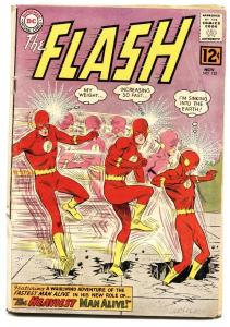 FLASH #132 dc comic book HEAVIEST MAN ALIVE INFANTINO ART!