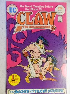 CLAW THE UNCONQUERED # 1 DC BRONZE FANTASY SWORD BARBARIAN