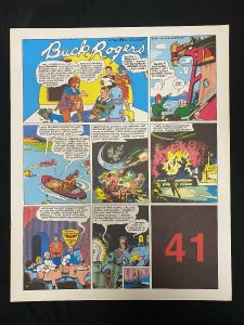 Buck Rogers #41- Sunday pages #481-492 - large color reprints