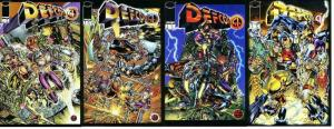 DEFCON 4 (1996 IM) 1-4  Slings&Arrows Guide recommended COMICS BOOK