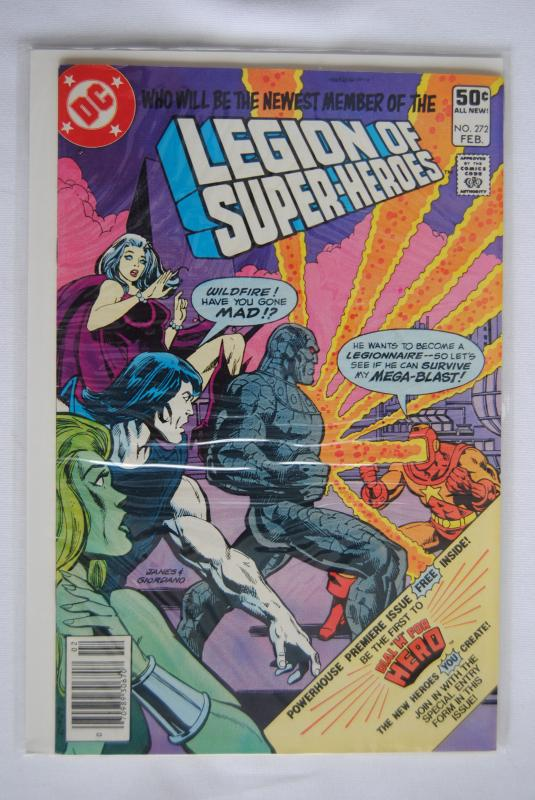 Legion of Super-Heroes 272
