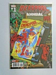 Deadpool Annual #1 A - 4th Series - NM - 2016