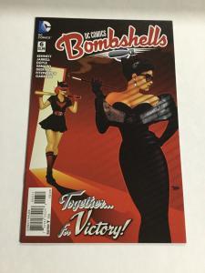 DC Comics Bombshells 6 Nm Near Mint