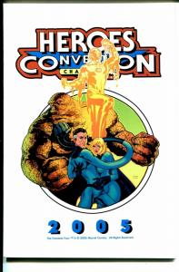 Heroes Convention Program Book 2005-Fantastic Four-Harris Clark-FN/VF