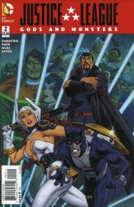 Justice League: Gods And Monsters #2 VF; DC | save on shipping - details inside
