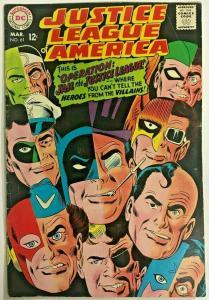 JUSTICE LEAGUE OF AMERICA#61 FN 1968 DC SILVER AGE COMICS