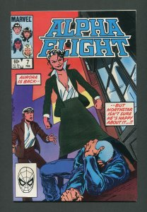 Alpha Flight #7  / 9.4 NM    February 1984