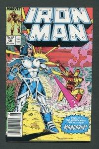 Iron Man #242  / 9.0 VFN/NM  Newsstand  May 1989