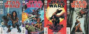 STAR WARS (1998 DARK HORSE) 19-22  TWILIGHT complete! COMICS BOOK