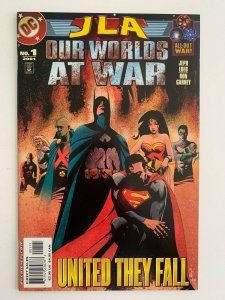 Justice League Our Wolds at War #1 (DC Comics) NM