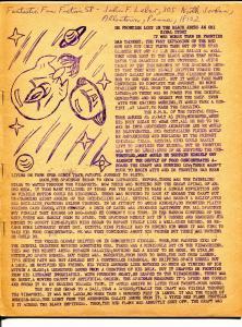Fantastic Fan Fiction #58 1960's-original comics-text stories-20 pages-VG/FN