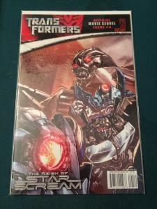 Transformers Official Movie Sequel #4 cover B