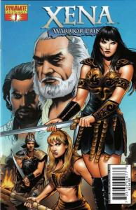 Xena (Dynamite) #1B FN; Dynamite | save on shipping - details inside