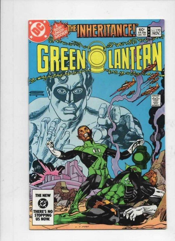 GREEN LANTERN #170, VF/NM, Gil Kane, Hal Jordan, 1960 1983 DC more in store
