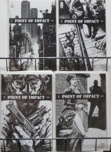 POINT OF IMPACT (Image, 2012) #1-4 COMPLETE Jay Faerber & Koray Kuranel Crime!
