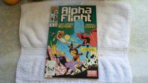 1990 MARVEL COMICS ALPHA FLIGHT # 90