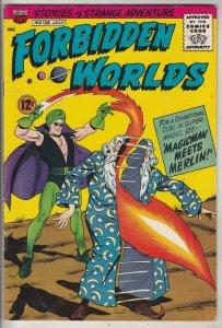 Forbidden Worlds #128 (Jul-65) NM- High-Grade Magicman