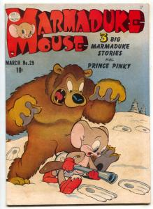 Marmaduke Mouse #29 1952- Golden Age Funny Animals FN