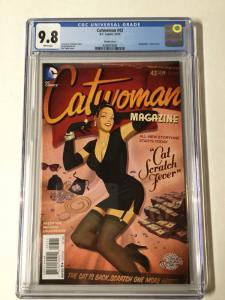 Catwoman 43 Cgc 9.8 Bombshell Variant