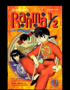 11 Ranma 1/2 Comic Books #3-10, #4-5, #9 JF21
