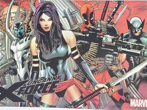Uncanny X-Force 10 x 7 Small Poster 2010 Deadpool Dark Wolverine C2
