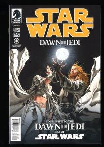 Star Wars: Dawn of the Jedi #0 NM 9.4 1st Print!