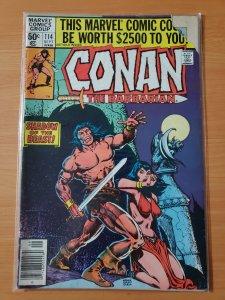 Conan the Barbarian #114 (1980)